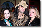 Jeanine Murphy and Jodie Payne with Eric Sardinas