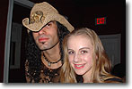 Laura Killian with Eric Sardinas