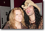 Lisa K. with Eric Sardinas
